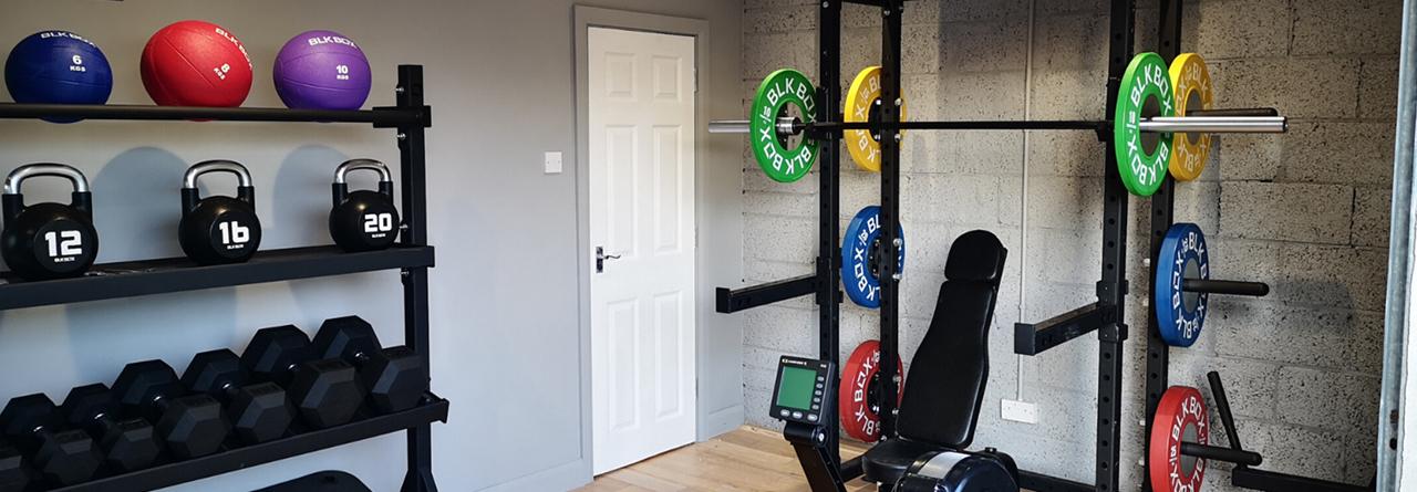 Öppna ytor i Gymmet